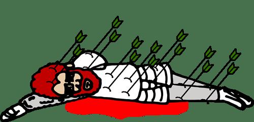 Troll-arrowed-knight
