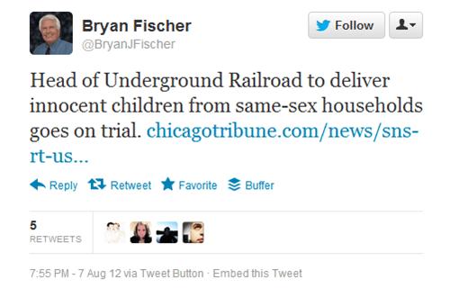 A Letter to Bryan Fischer