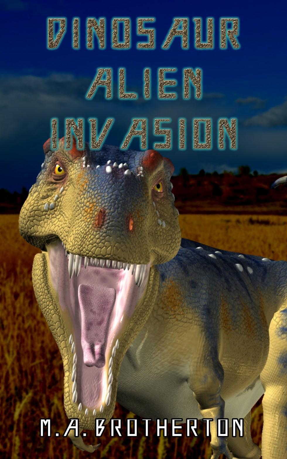 Dinosaur Alien Invasion