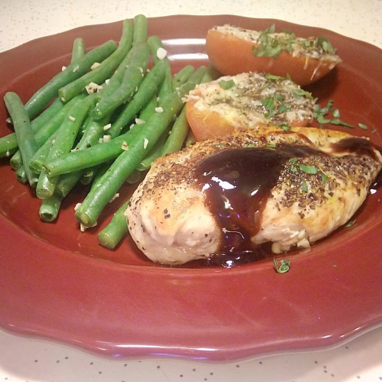 Sicilian Herb Chicken