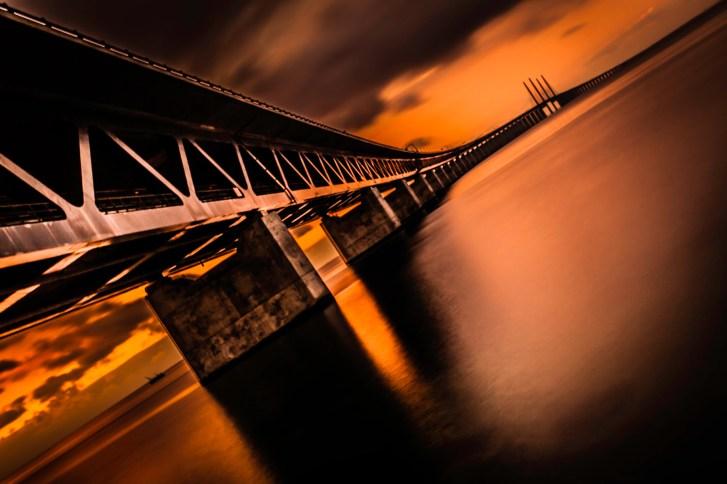 Heating Up Öresundsbron - Fine Art Photographer - Houston - Mabry Campbell