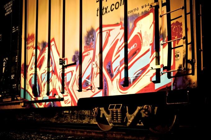 Rail Art - Mabry Campbell