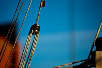 Sailboat Boom Pulley - Mabry Campbell