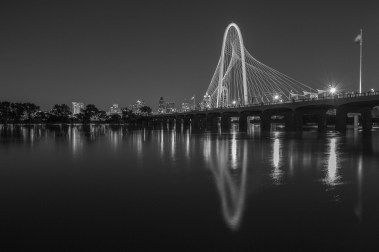 Reflections-Of-Margaret-Hunt-Hill-Bridge-Over-Trinity-River-Mabry-Campbell