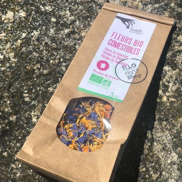 Fleurs comestibles Box Emotions bio