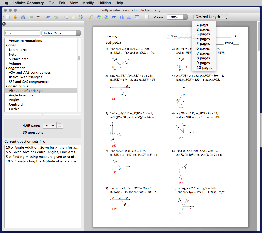 Infinite Geometry Mac 2 06