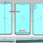 またまた新型iPhone(6.1インチ、6.5インチ)の図面が公開される