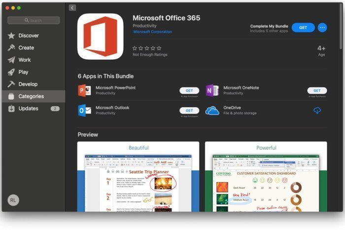 Office 365 App Store image