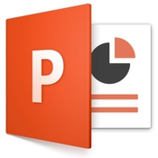 PowerPoint 2016 logo icon