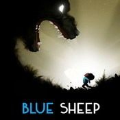 Blue sheep game cover icon