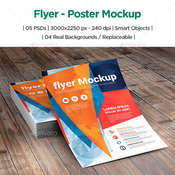 Flyer poster mockup 12366829 icon