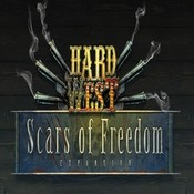 Hard west scars of freedom flat box icon