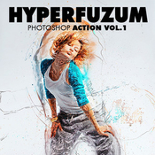 Hyperfuzum photoshop action vol1 icon