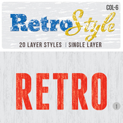 Retro layer styles 5123870 icon