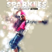 Sparkles photoshop action 12176752 icon
