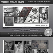 Bundle facebook timelines covers 6680155 icon