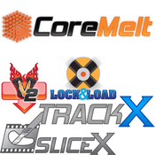 Coremelt complete v2 lock and load x bundle slicex and trackx powered by mocha icon