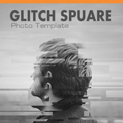 Glitch square photo templates 12183965 icon