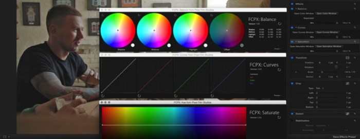 Modular Color Grading Tools