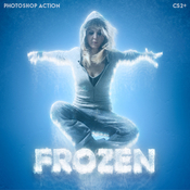 Frozen ice photoshop action 13499885 icon