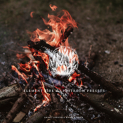 Element fire lightroom presets icon