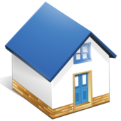 Housekeeper manage houses and the items inside icon