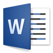 Microsoft word 2016 icon