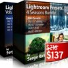 Photoserge lightroom presets collection vol 1 8 bundle icon