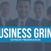 Business grind keynote template by creative slides 896647 icon