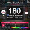 Facebook newsfeed banners 90 designs 2 sizes each by doto 16443642 icon