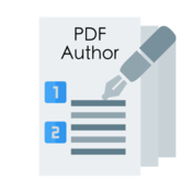 Orion pdf author icon