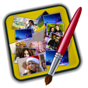Photo collage maker pro image picture poster creator hd 3 1 9 icon