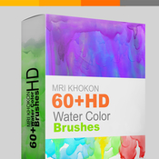 60pluswater color brushes sets by mrikhokon 16351774 icon