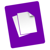 Purple notes icon