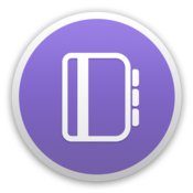 Outline note app with local storage cloud sync icon