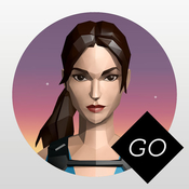Lara croft go game icon