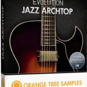 Orange tree samples evolution jazz archtop icon