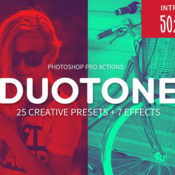 Duotone photoshop creative actions 1133115 icon
