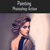 Graphicriver painting ps action 19065001 icon