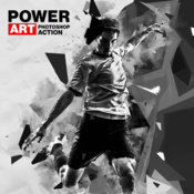Power art photoshop actions 18851329 icon