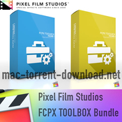 Pixel film studios fcpx toolbox bundle icon