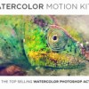 Videohive watercolor motion kit 17286607 icon