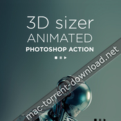 3d sizer animated photoshop action 19531981 icon