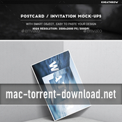 Photorealistic 6x4 postcard and invitation mock ups 15597544 icon
