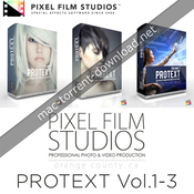 Pixel film studios - protext vol.1-3 for fcpx icon