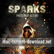 Sparks photoshop action 19420143 icon