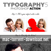 Typography 5 19439857 acciones photoshop icon