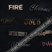 Videohive 3d text styles cinematic trailer toolkit 16535554 icon