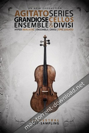 8dio agitato grandiose ensemble and divisi violas kontakt icon