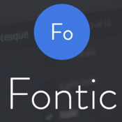 Fontic plug in for adobe photoshop cc icon